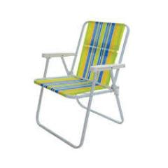 Refil Pano Para Cadeira de Praia Alta Com 06 Unidades