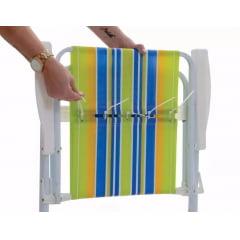 Refil pano para Cadeira de Praia Alta com 05 unidades